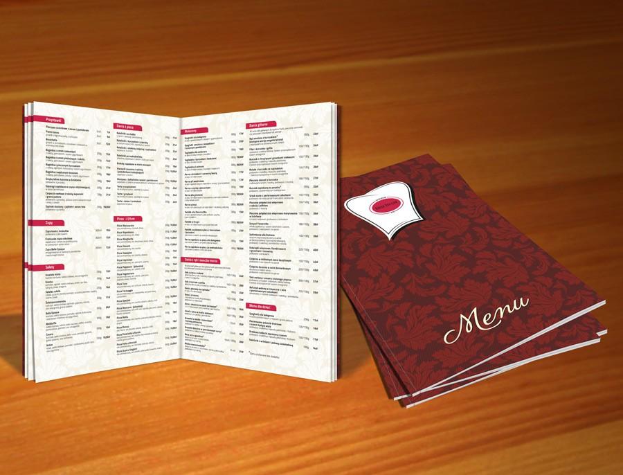 Karty menu Szczecin