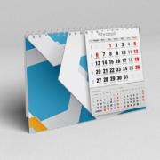 Kalendarze biurkowe miesięczne 2017