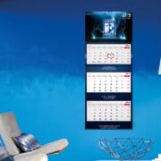 Kalendarz trójdzielny Szczecin