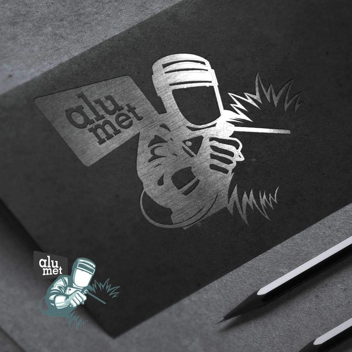 Logo Alu-met Spawanie Stargard