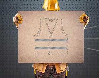 Odzież robocza BHP z nadrukiem Stargard