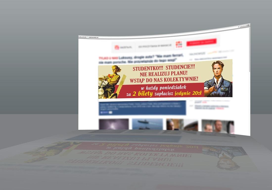 banery na strony internetowe Szczecin