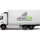 Reklama na samochodach ciężarowych