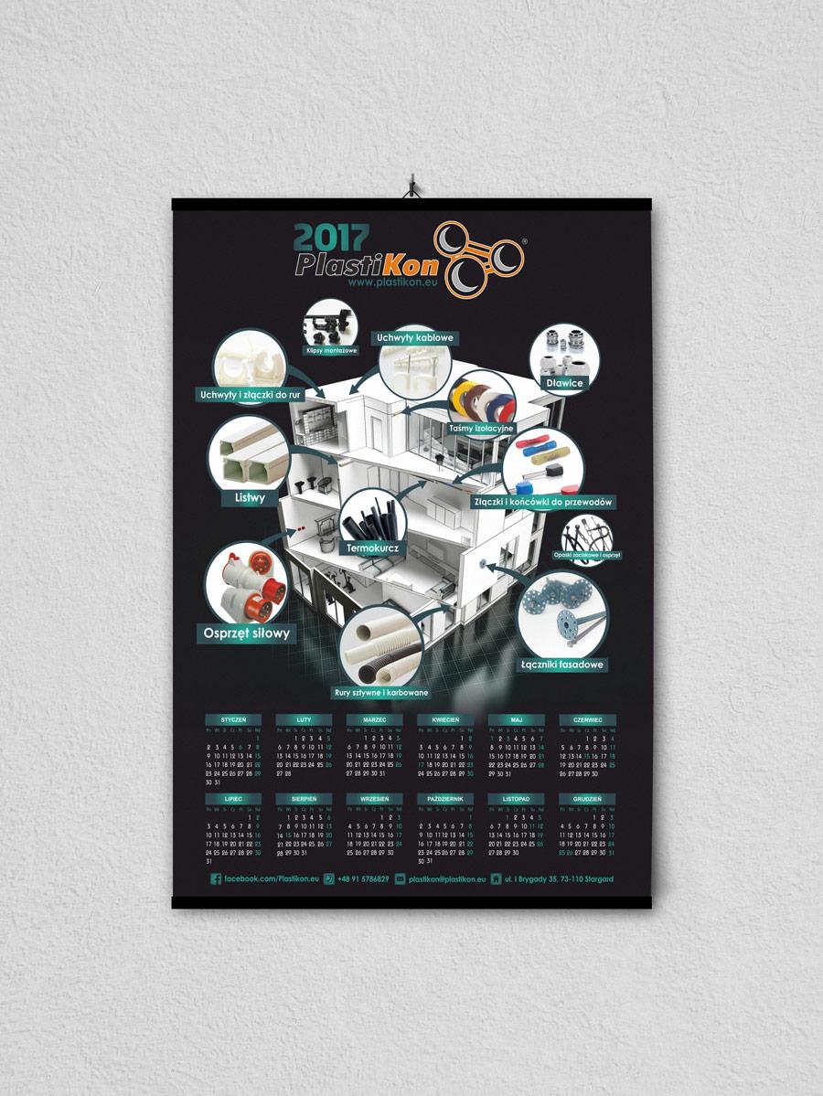 Kalendarze listwowane Stargard