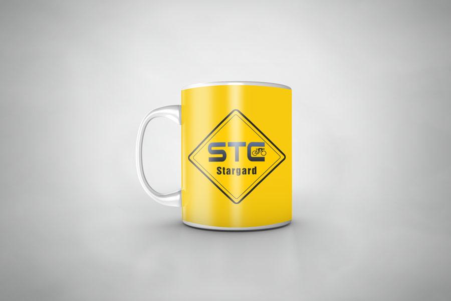 Kubeczki z nadrukiem STC
