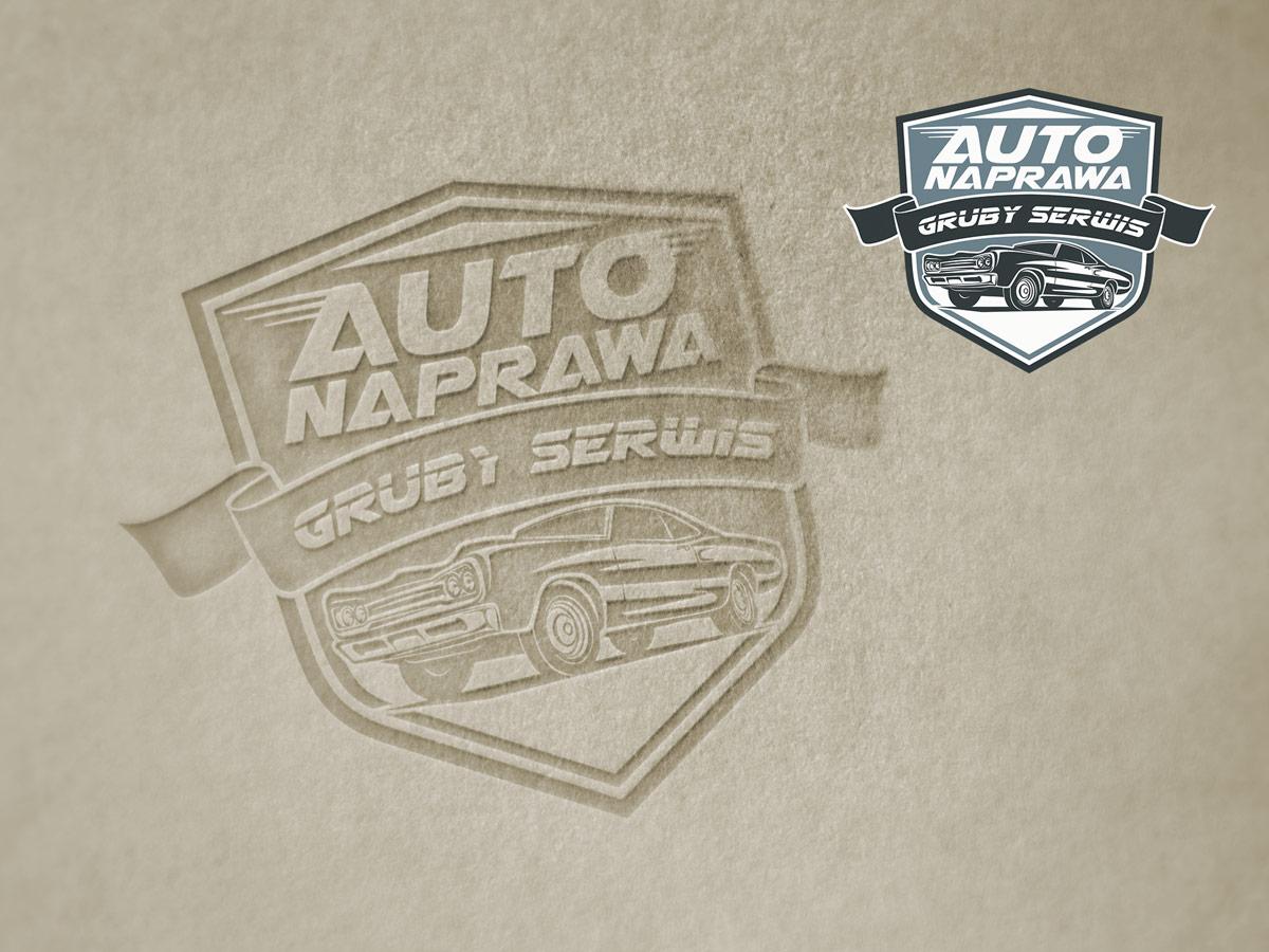 Projektowanie logo Szczecin Gruby Serwis
