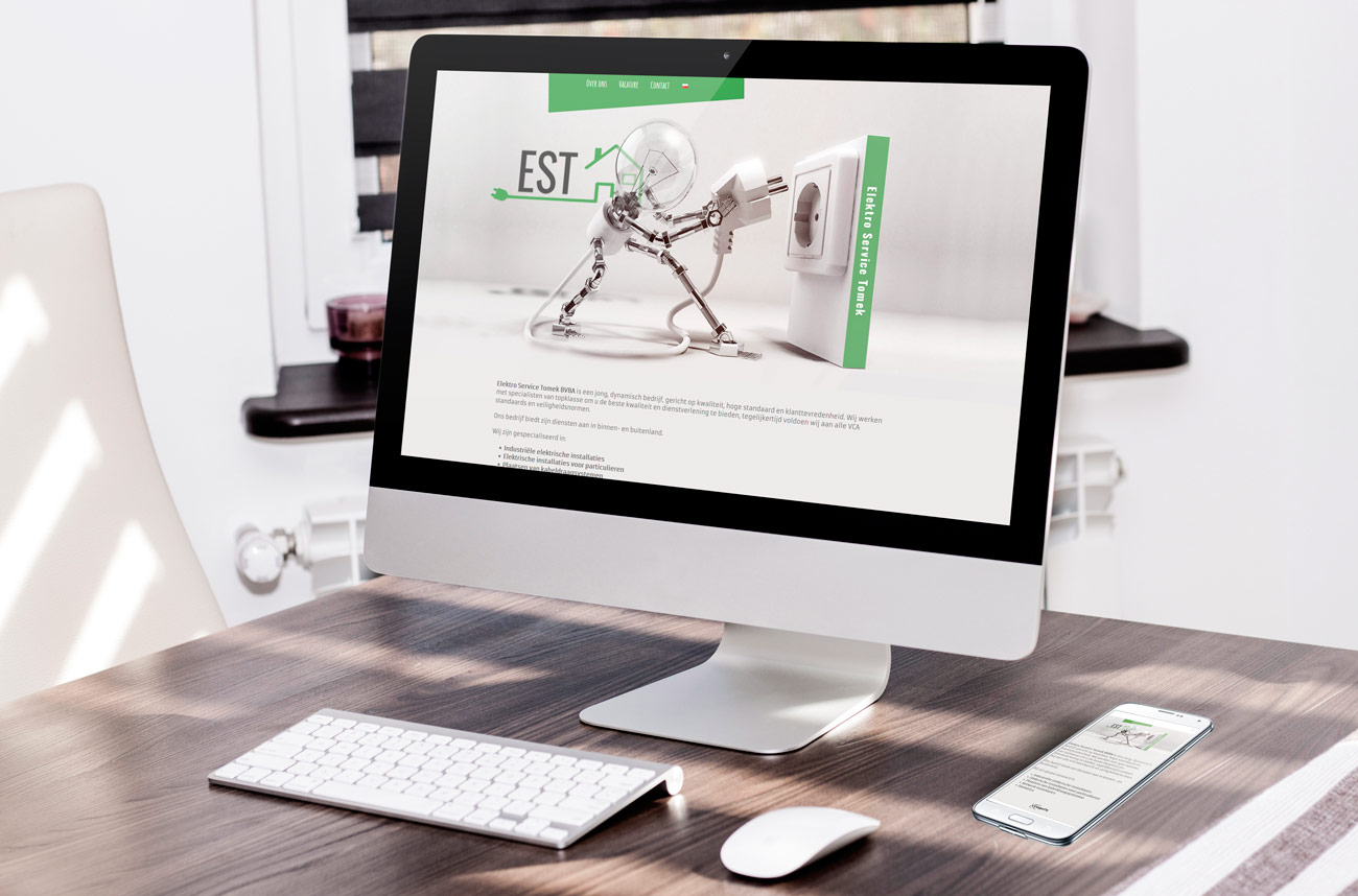 Strony www Elektro Service Tomek