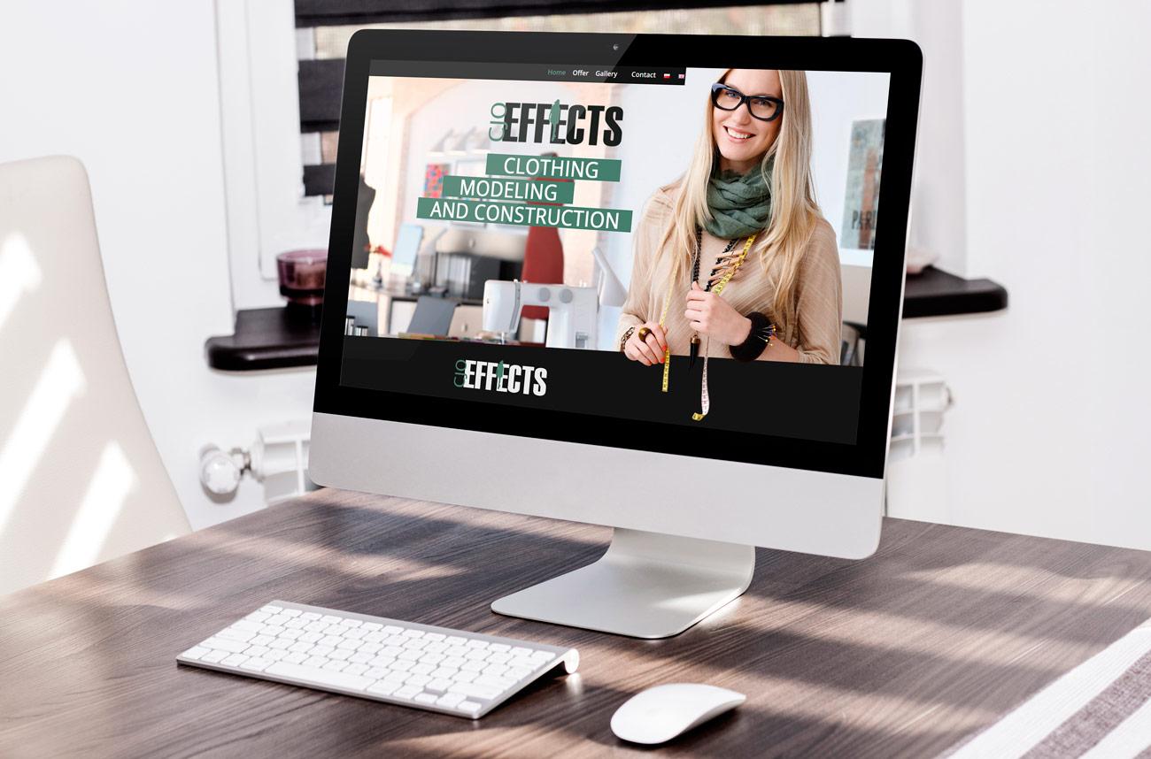 Strona www: Cjoeffects.pl