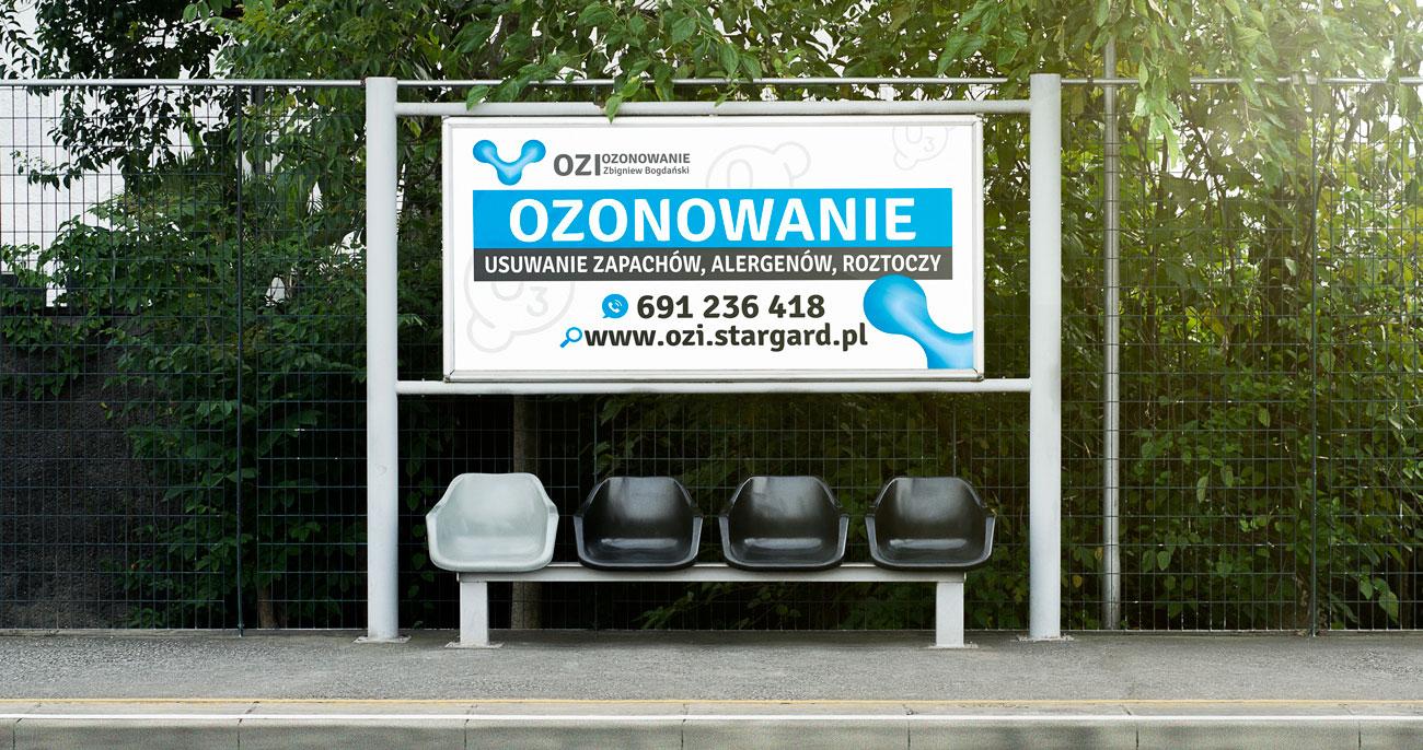 Baner Ozi Ozonowanie Stargard