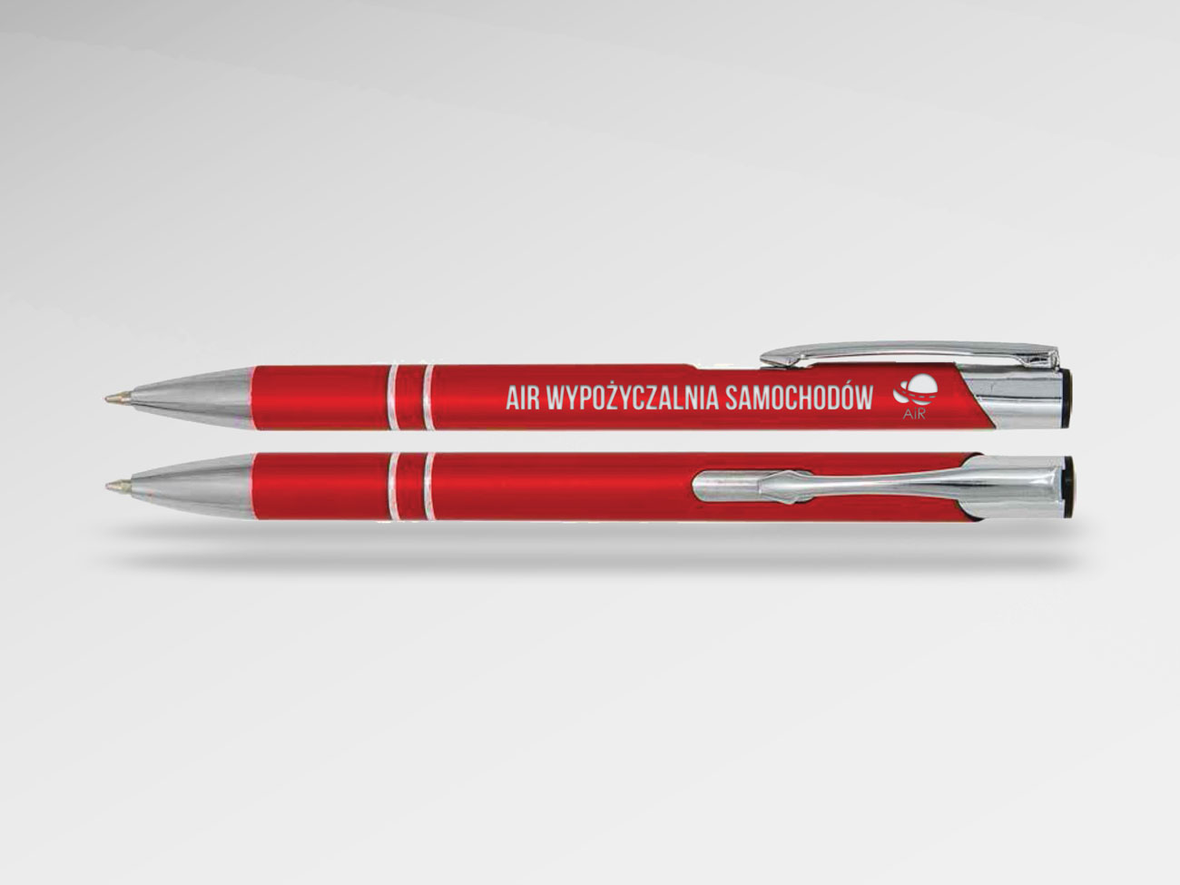 Długopisy z nadrukiem AiR Stargard