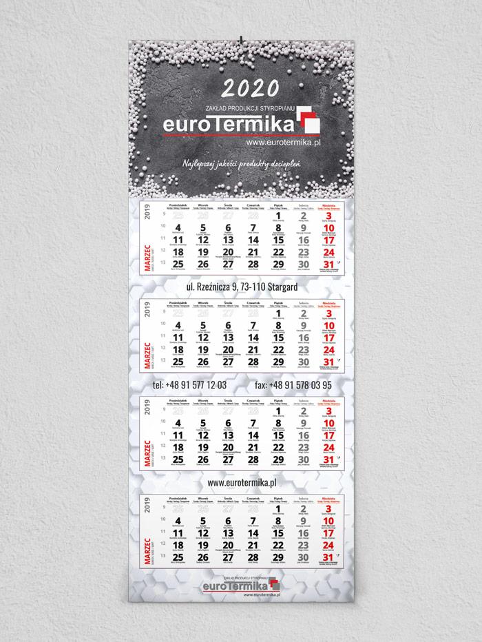 Kalendarze czterodzielne Stargard