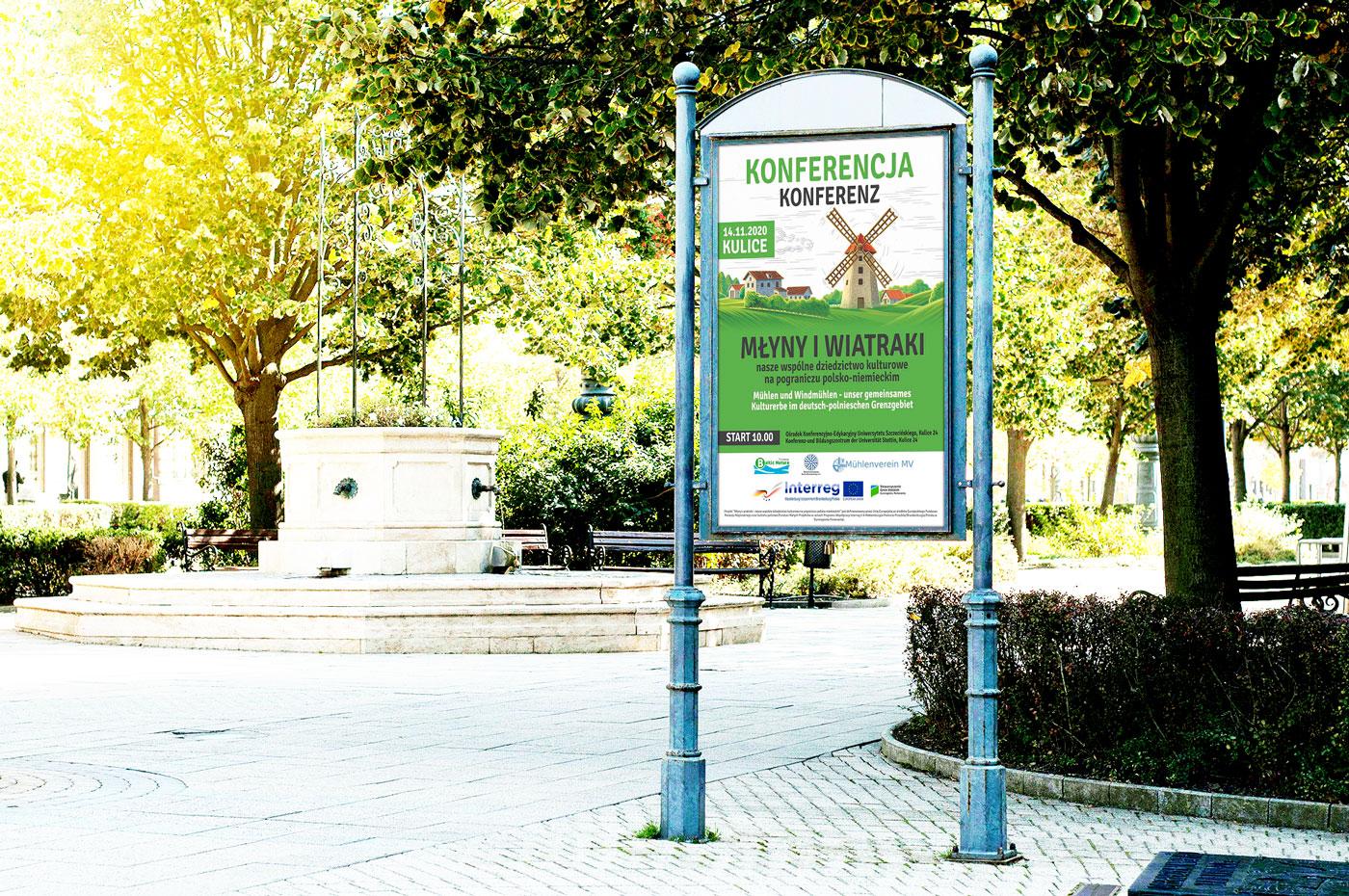 Plakat Młyny i Wiatraki Szczecin