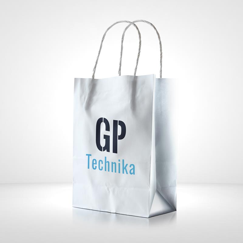 Torba papierowa GP-Technika Police