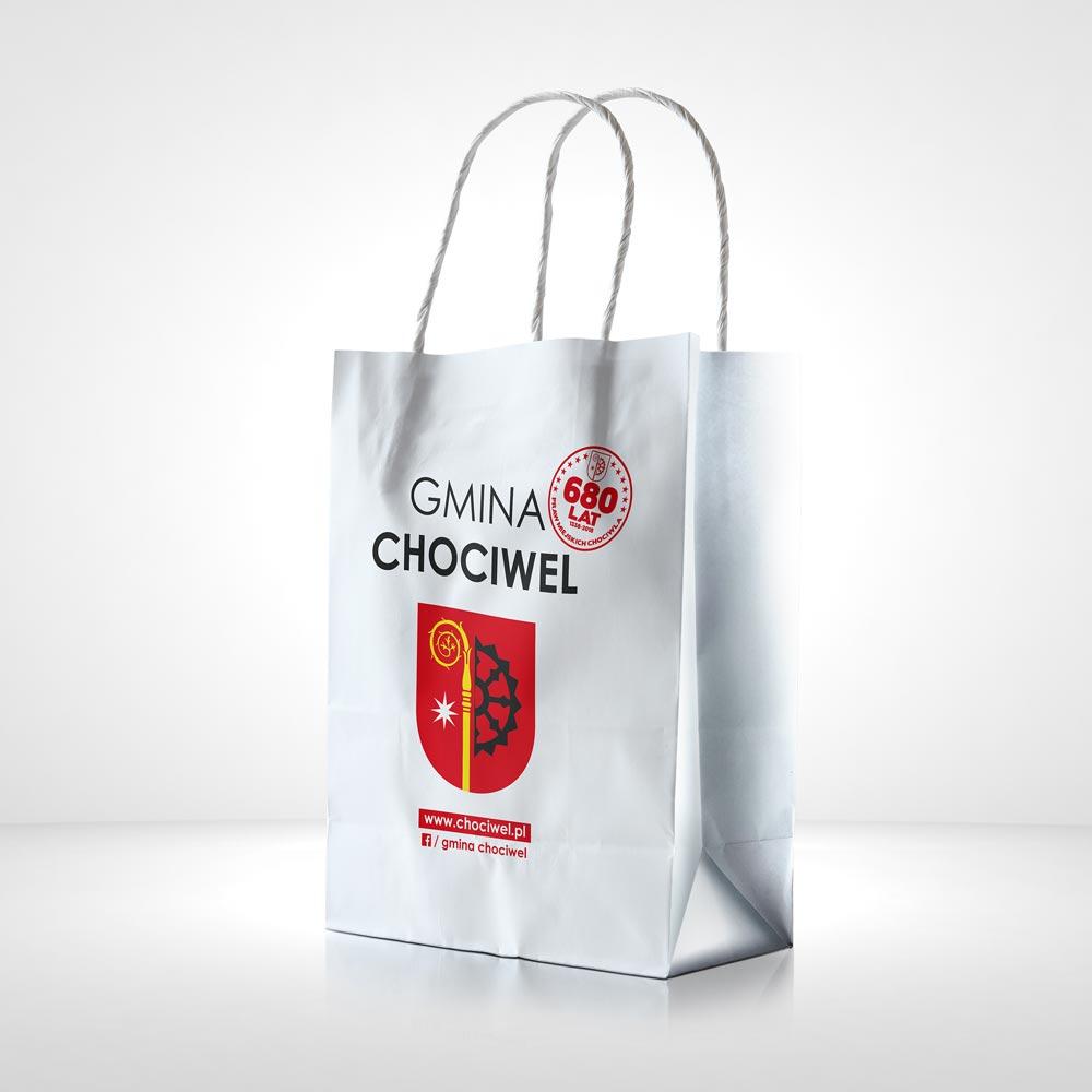 Torba papierowa Gmina Chociwel