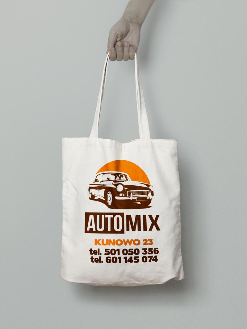 Torby bawełniane Auto-mix