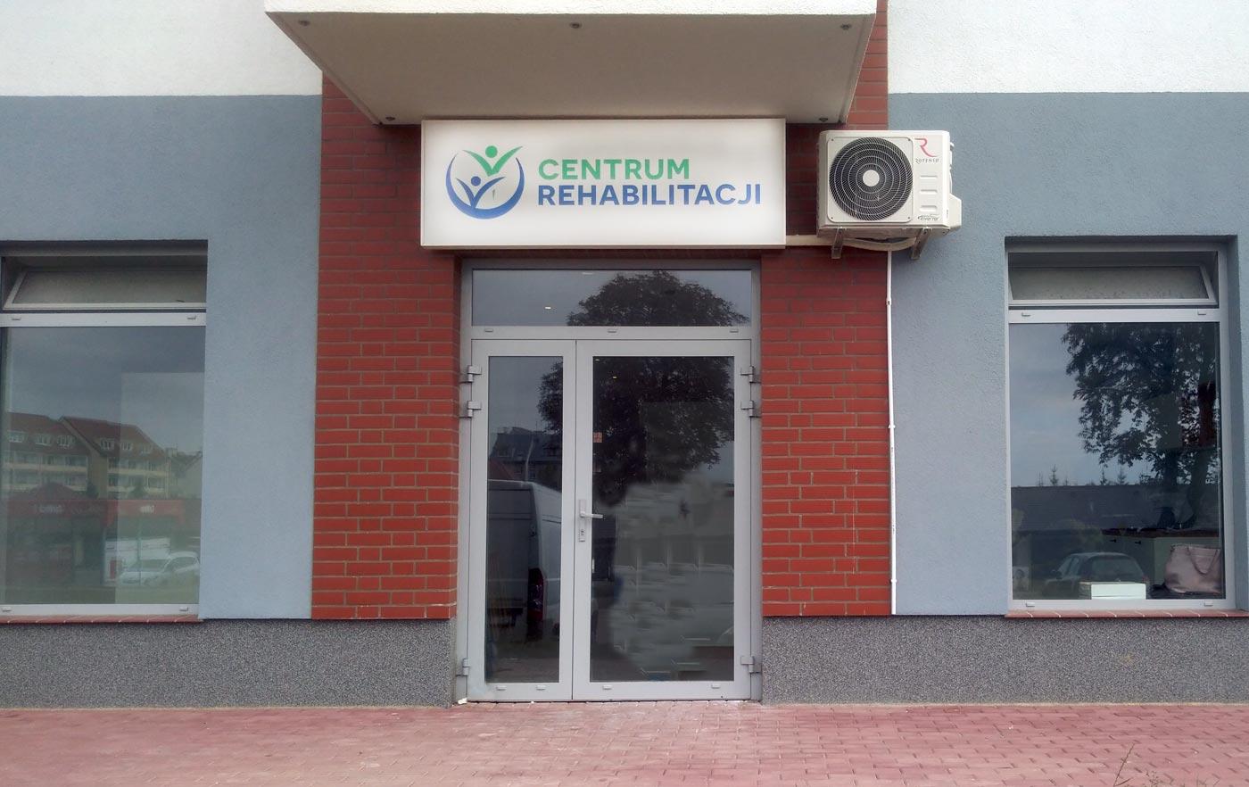 Kaseton centrum rehabilitacji Stargard
