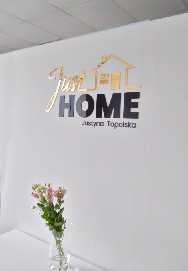 Just Home Logo 3D